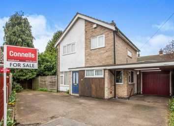 Thumbnail 3 bedroom detached house for sale in Pevensey Avenue, Evington, Leicester