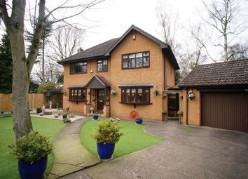 Thumbnail 4 bedroom detached house for sale in Conifer Close, Scunthorpe