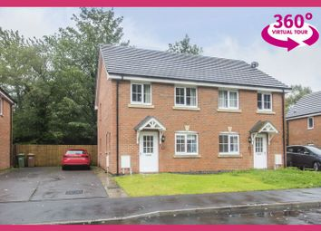 Thumbnail 3 bed semi-detached house for sale in Woodland View, Abercarn, Newport