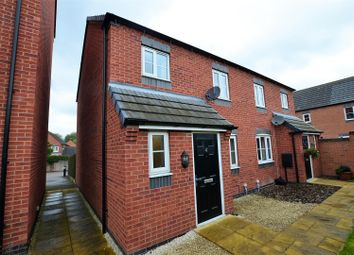 Thumbnail 3 bed semi-detached house for sale in Isis Way, Hilton, Derby