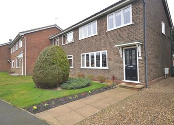 Thumbnail 3 bed end terrace house for sale in Aylesbury Close, Norwich