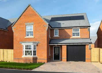 """Thumbnail 4 bedroom detached house for sale in """"Exeter"""" at Leigh Road, Wimborne"""
