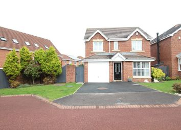 Thumbnail 4 bed detached house for sale in Dunkeld Close, Gateshead