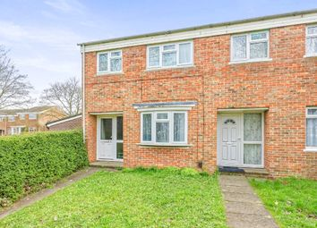 Thumbnail 3 bed end terrace house for sale in Chaucer Close, Basingstoke