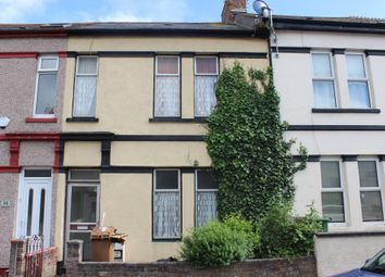 Thumbnail 3 bed terraced house for sale in Trelawney Avenue, Plymouth