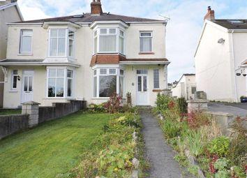 Thumbnail 3 bedroom semi-detached house for sale in West Cross Avenue, West Cross, Swansea