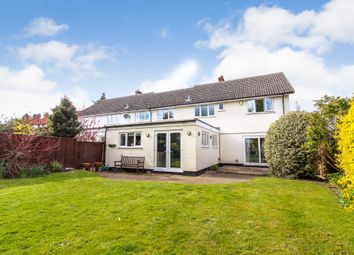 Thumbnail 4 bed semi-detached house for sale in Mill Road, Hempnall, Norwich