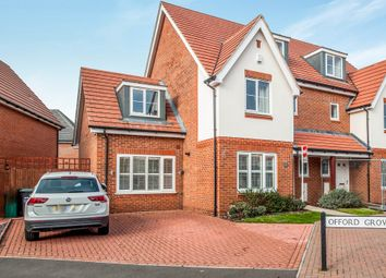Thumbnail 4 bedroom semi-detached house for sale in Bateson Drive, Leavesden, Watford