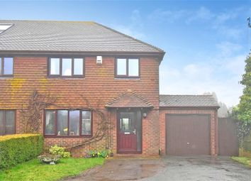Thumbnail 3 bed semi-detached house for sale in The Street, West Hougham, Kent