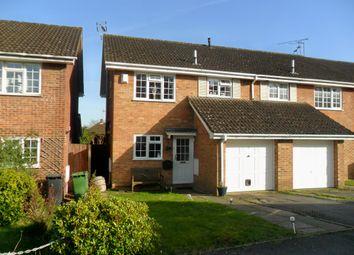 Thumbnail 4 bedroom semi-detached house for sale in Ashmead, Bordon