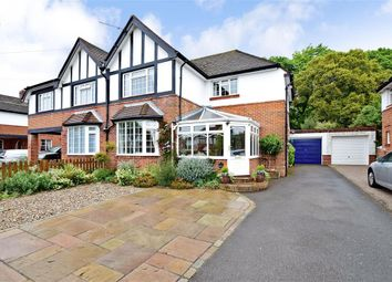 Thumbnail 3 bed semi-detached house for sale in The Causeway, Down End, Fareham, Hampshire