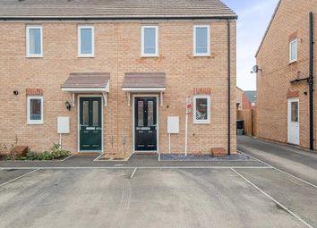 Thumbnail 2 bedroom end terrace house for sale in Apollo Avenue, Peterborough, Cambridgeshire