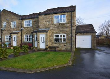 Thumbnail 3 bed end terrace house for sale in Boundary Court, Scholes, Holmfirth