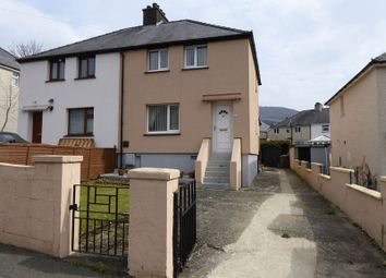 Thumbnail 3 bed semi-detached house for sale in Pentre Helen, Deiniolen, Caernarfon