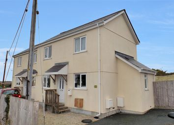 Thumbnail 2 bed semi-detached house for sale in Newquay Road, St. Columb Road, St. Columb