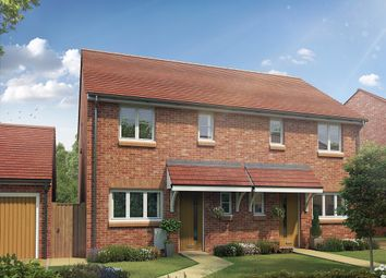 "Thumbnail 3 bed semi-detached house for sale in ""The Boxley "" at Maidstone Studios, New Cut Road, Maidstone"