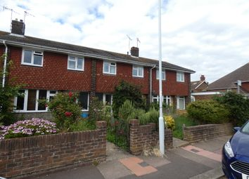 Thumbnail 3 bed terraced house to rent in Centrecourt Road, Worthing