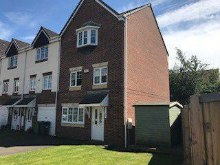 Thumbnail 3 bed town house to rent in Aspen Close, Gomersal, Cleckheaton