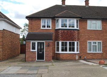Thumbnail 3 bed end terrace house for sale in Heron Way, Upminster, Essex