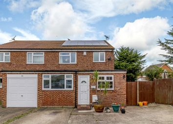 Thumbnail 4 bed semi-detached house for sale in Hampton Close, Herne Bay, Kent