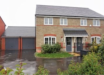 Thumbnail 3 bed semi-detached house for sale in Woodpecker Close, Keynsham