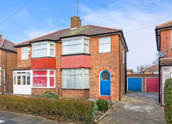 Thumbnail 3 bed semi-detached house for sale in Oakwood Crescent, Greenford