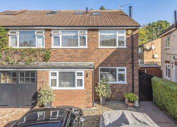 Thumbnail 4 bed semi-detached house to rent in Shacklegate Lane, Teddington