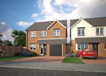 Thumbnail 4 bed detached house for sale in Holmleigh Close, Cheshire Lane, Buckley, Clwyd