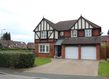 Thumbnail 5 bed detached house for sale in Cavendish Close, Bicton Heath, Shrewsbury