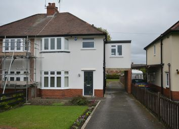 Thumbnail 4 bed semi-detached house for sale in Station New Road, Old Tupton, Chesterfield