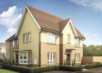 "Thumbnail 3 bedroom semi-detached house for sale in ""Morpeth"" at Knights Way, St. Ives, Huntingdon"