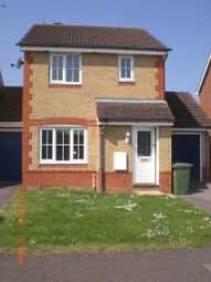 Thumbnail 3 bed detached house to rent in Ferndale, Yaxley, Peterborough