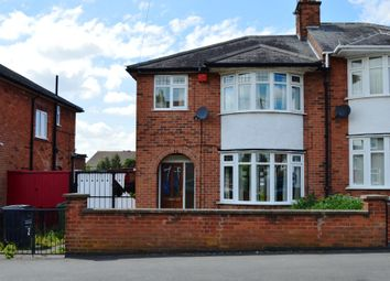 Thumbnail 3 bed semi-detached house to rent in Westdown Drive, Leicester