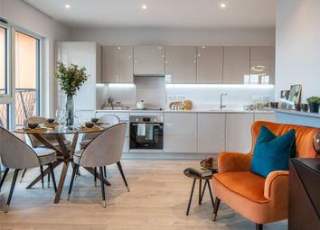 Thumbnail 1 bed flat for sale in Brunel Street Works, Canning Town