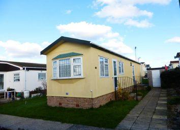 Thumbnail 1 bedroom mobile/park home for sale in Tower Park, Hullbridge, Hockley