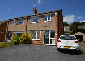 Thumbnail 3 bed semi-detached house for sale in Hunger Hills Drive, Horsforth, Leeds, West Yorkshire