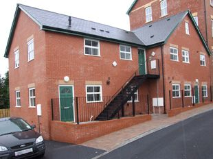 Thumbnail 2 bed flat to rent in Flat 2 Clovelly High Street, Llandrindod Wells, Powys