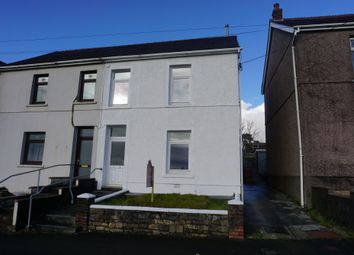 Thumbnail 3 bed semi-detached house for sale in Johns Terrace, Carmel, Llanelli