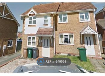 Thumbnail 2 bed semi-detached house to rent in The Gables, Newhall, Swadlincote