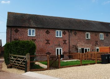 Thumbnail 4 bed barn conversion to rent in Manor Road, Madeley, Crewe