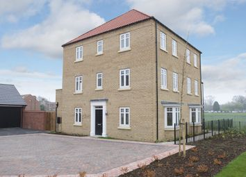 "Thumbnail 4 bedroom end terrace house for sale in ""Drayton"" at Sandbeck Lane, Wetherby"