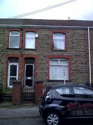 Thumbnail 3 bed terraced house to rent in Victoria Street, Maesteg, Bridgend