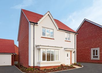 "Thumbnail 4 bed detached house for sale in ""The Downham"" at Radwinter Road, Saffron Walden, Essex, Saffron Walden"