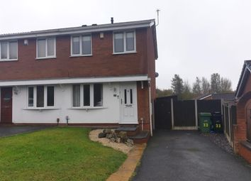 Thumbnail 2 bed semi-detached house to rent in Aintree Way, Dudley