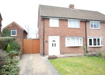Thumbnail 3 bedroom semi-detached house for sale in Byron Way, Worksop