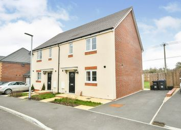 Thumbnail 3 bed semi-detached house for sale in Larkspur Drive, Calne
