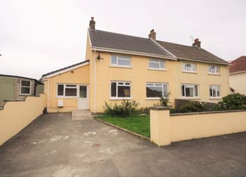 Thumbnail 3 bed semi-detached house for sale in 21 Lon Hywel, Whitland, Carmarthenshire