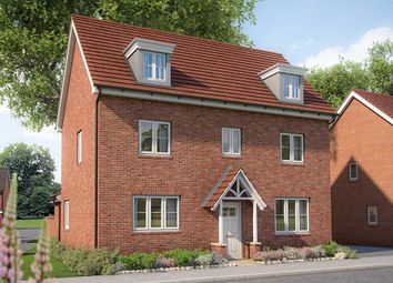 "Thumbnail 5 bed detached house for sale in ""The Yew"" at Appleton Way, Shinfield, Reading"