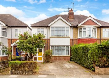 Thumbnail 3 bed semi-detached house for sale in Kenley Road, Merton Park