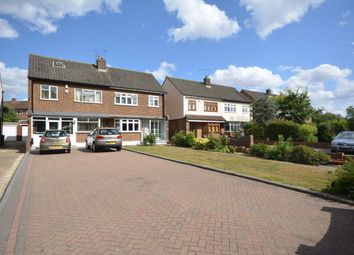Thumbnail 4 bed semi-detached house for sale in Sackville Crescent, Harold Wood, Romford